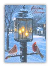 Christmas Blessings, Warmth Of Winter Christmas Cards, Box of 20