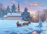 Peace In Your Heart, Guiding Light Christmas Cards, Box of 20