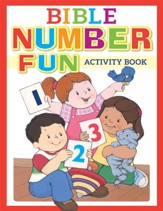 Bible Number Fun Activity Book - Slightly Imperfect