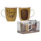Pastor/Pastor's Wife Mugs, Set of 2
