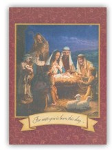 Nativity Christmas Cards, Box of 20