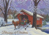 Crossing Over (Luke 2:14, KJV), 20 Count Boxed Christmas Cards
