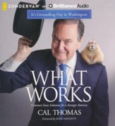 What Works: Common Sense Solutions for a Stronger America - unabridged audiobook on CD