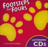 BJU K4 Footsteps Teacher's Audio CD, Second Edition