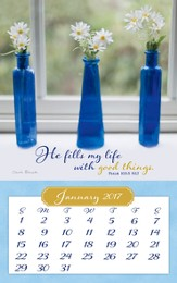 2017 Everyday Miracles, Mini Magnetic Calendar