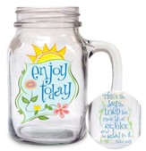 Enjoy Today Glass Mug
