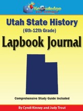 Utah State History Lapbook Journal - PDF Download [Download]