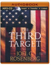 The Third Target - unabridged audiobook on MP3-CD