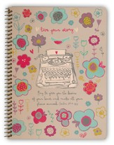Live Your Story Notebook, Medium