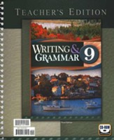 BJU Press English Teacher's Edition,  Grade 9, 3rd Edition