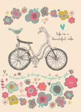 Life Is A Beautiful Ride, Blank Notepads, Pack of 10