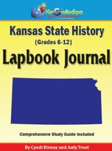 Kansas State History Lapbook Journal - PDF Download [Download]