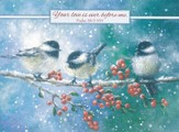 Your Love Is Ever Before Me, Chickadees, Blank Notecards, Pack of 10