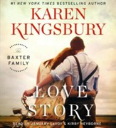 Love Story, The Baxter Family Series #1 - Audiobook on CD
