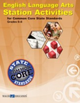 English Language Arts Station  Activities for Common Core State Standards, Grade 6-8 - PDF Download [Download]