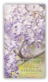 In Quietness and Trust Is Your Strength Tripad Notepads