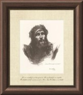 He Was Wounded, Isaiah 53, Framed Art