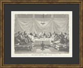 The Lord's Supper, Luke 22:20, Framed Art