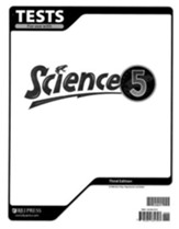 BJU Science Grade 5 Tests, Third Edition