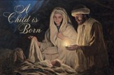 A Child Is Born, Nativity, Box of 20 Cards