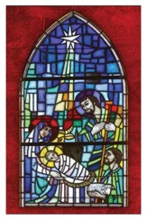 Stained Glass Nativity, Box of 20 Cards