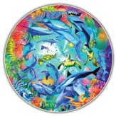 Underwater World, 500 Piece Round Puzzle