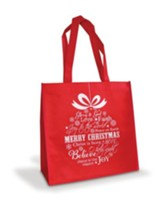 Merry Christmas, Ornament, Eco Tote Bag