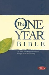 The One Year Bible NKJV - eBook