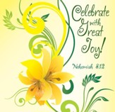 Celebrate with Great Joy, Napkin