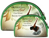 She Who Kneels Cosmetic Bags, Set of 2