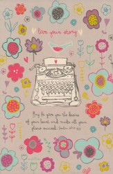 Live Your Story, Prayer Journal
