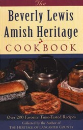 Beverly Lewis Amish Heritage Cookbook