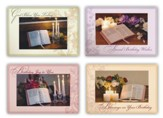 Treasured Moments, Birthday Cards, Box of 12