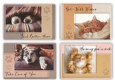 Quiet Reflections, Get Well Cards, Box of 12