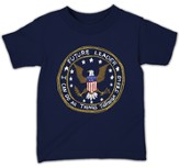 Future Leader Shirt, Navy  Youth Small