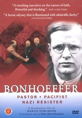 Bonhoeffer: Pastor, Pacifist, Nazi Resister on DVD