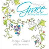 Words of Grace--Coloring Devotional  - Slightly Imperfect