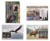 Wild & Free, Birthday Cards, Box of 12
