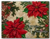 Season's Greetings, Christmas Cards, Box of 18