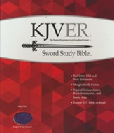 KJVer (Easy Reader) Giant Print Sword Study Bible, Ultrasoft Designer Purple