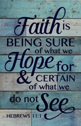 Faith, Rustic Wall Art