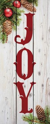 Joy, Rustic Wall Art