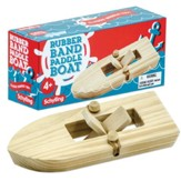 Wooden Paddle Boat