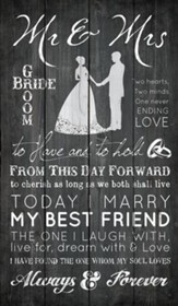 Always and Forever Rustic Wall Art
