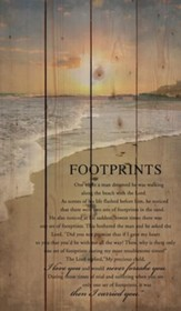 Footprints, Rustic Wall Art