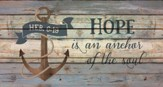 Hope, Rustic Wall Art
