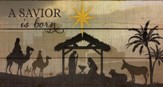A Savior is Born, Rustic Wall Art