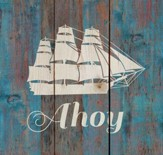 Ahoy, Rustic Wall Art