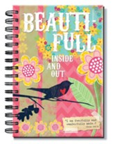 Beautiful, Spiral Bound Journal