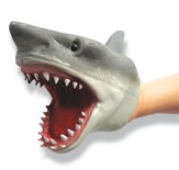 Thermoplastic Rubber Shark Hand Puppet